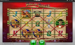 merkur world of circus slot